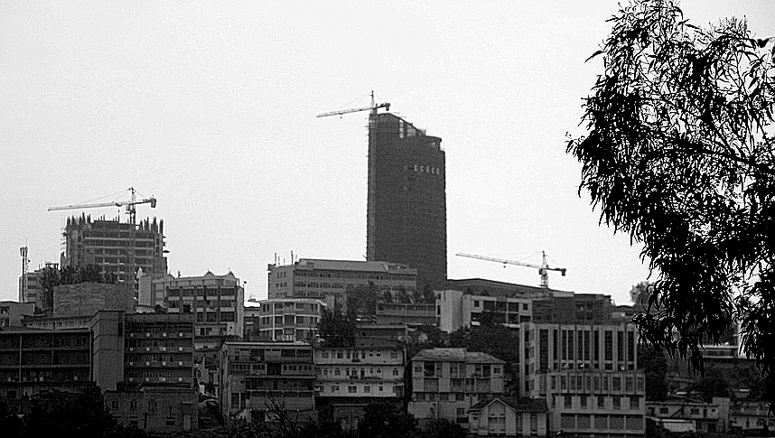 Hochhaus in Kigali im Dezember 2009 (Flickr/oh contraire)